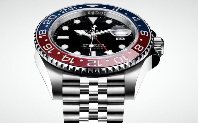 "Rolex GMT Master II ""Pepsi"" in Steel 2"