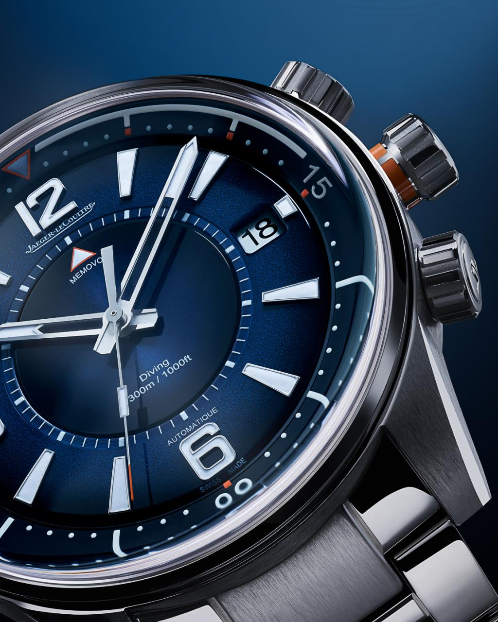 Jaeger-LeCoultre Introduces The Polaris Mariner: A Pair Of Serious ISO 6425-Rated Dive fake Watches